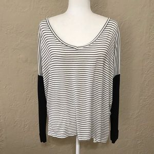 NWOT Windsor Relaxed Long Sleeve Top